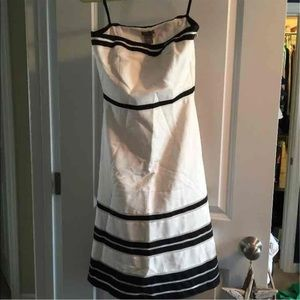 Ann Taylor strapless dress size 0